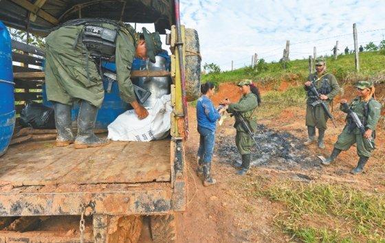 Así lavan plata las guerrillas en Colombia
