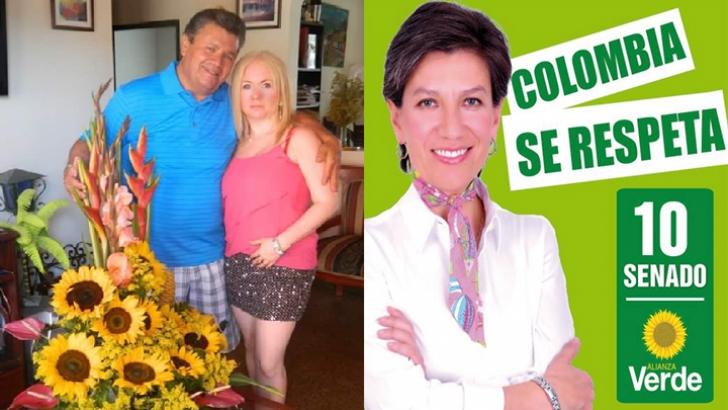 Papá de Senadora Claudia López, acusado de violencia intrafamiliar y acto sexual violento
