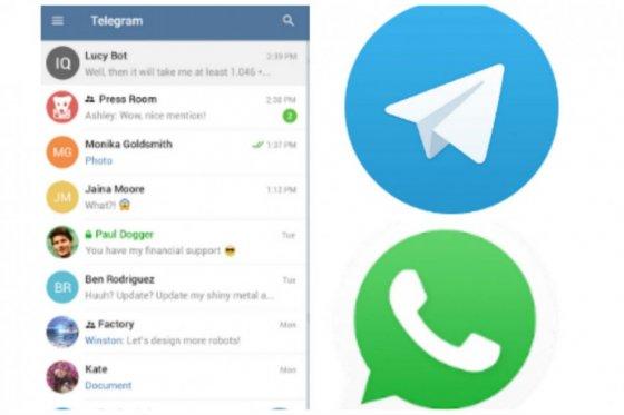 Lo que tiene Telegram que no tiene Whatsapp