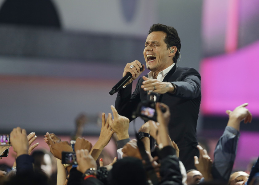 El sentido adiós de Marc Anthony a Juan Gabriel, video