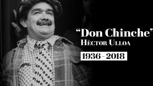"Murió Héctor ""Don Chinche"" Ulloa, protagonista de la comedia más famosa de los 80, (VIDEO)"