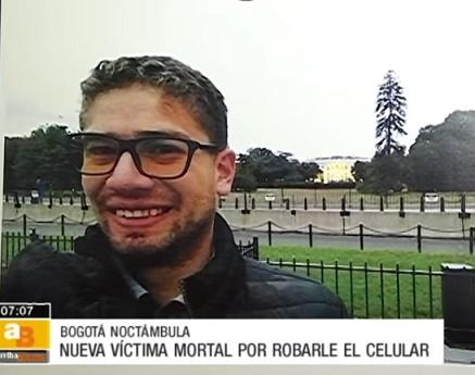 Por no dejarse robar el celular, habrían asesinado ingeniero en Bogotá,(VIDEO)