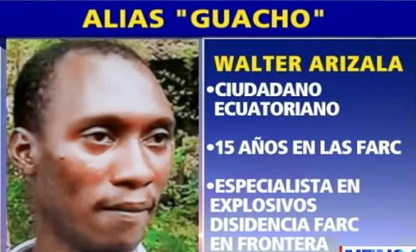 Guacho fue abatido en operativo por la Fuerza Pública