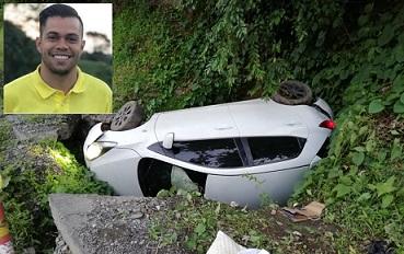Concejal electo de Armenia sufrió impactante accidente de transito