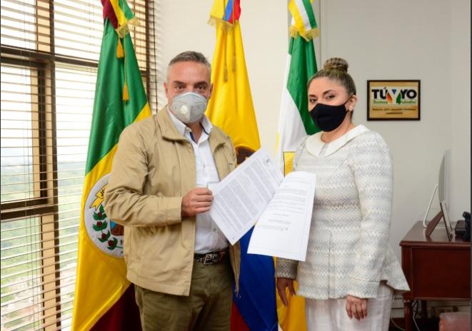 Gobernador Roberto Jairo Jaramillo Cárdenas designa alcaldesa (e) para Armenia, Quindío