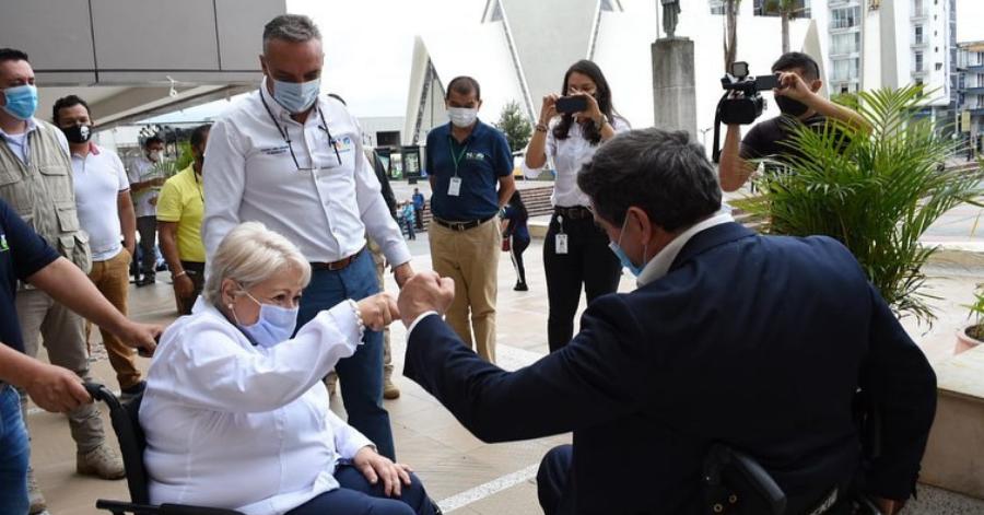 Presidencia exaltará al Gobernador del Quindío por labor con población con discapacidad