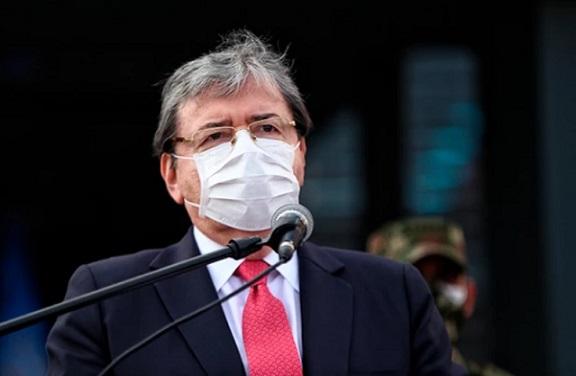 Ministro de Defensa no pidió perdón por excesos de la fuerza pública: dice que lo hizo el 11 de septiembre