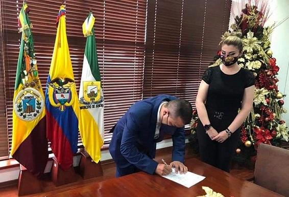 Jaime Andrés Pérez Cotrino, es el nuevo Secretario del Interior de la Gobernación del Quindío