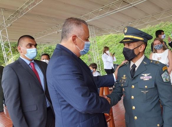 Asumió el mando nuevo comandante del Batallón de Apoyos y Servicios N°.8 'Cacique Calarcá'