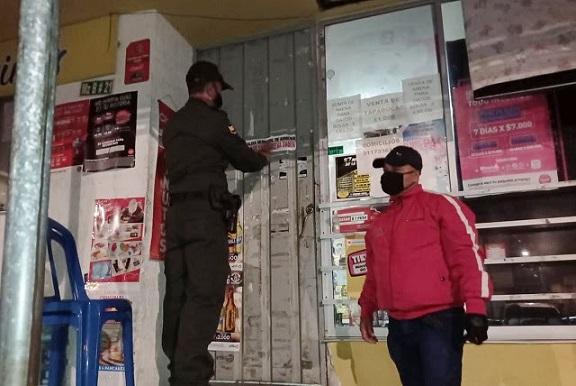 En Armenia sellaron dos tiendas por contravención al nuevo Código Nacional de Policía