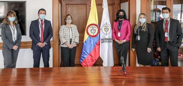 Procuradora Margarita Cabello Blanco posesionó a los primeros funcionarios que harán parte de su gabinete