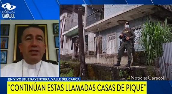 """""""En esos sitios están picando la gente"""": obispo de Buenaventura afirma que ese terrible fenómeno sigue en el puerto"""