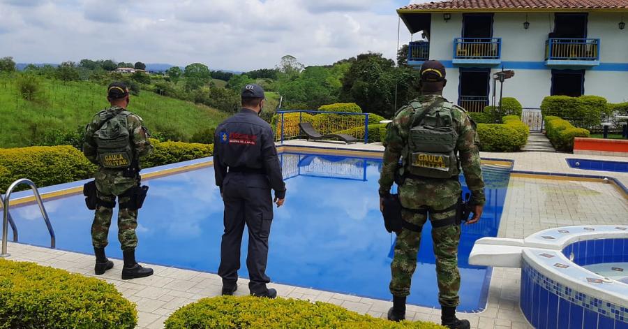 Ejército realiza extinción de dominio a predios del grupo delincuencial 'Los Blancos'