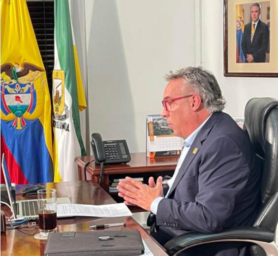 Gobernador y Presidente Duque socializan avances en fase de alistamiento para aplicación de vacuna en el Quindío