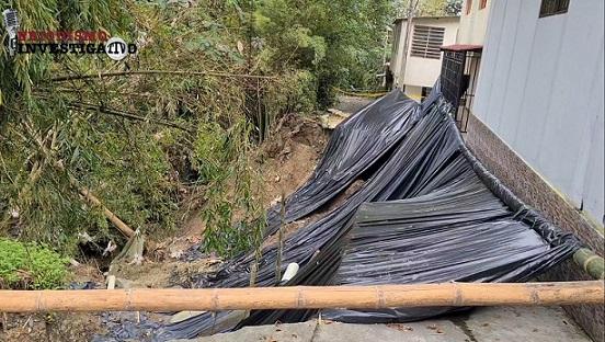 Barrio 'Medio Ambiente' de Circasia podría convertirse en la 'crónica de una tragedia anunciada'