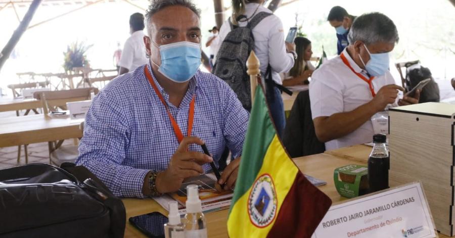 Gobernador del Quindío, Roberto Jairo Jaramillo Cárdenas, positivo para COVID-19