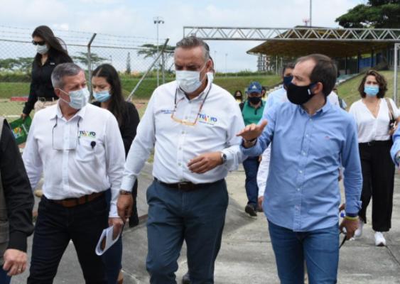Ministro del Deporte Ernesto Lucena visitará el Quindío para evaluar avance de obras de cara a los Juegos Nacionales 2023