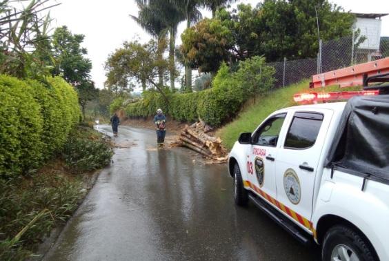 Unidad Departamental en Gestión del Riesgo de Desastre en alistamiento preventivo para atender cualquier eventualidad por lluvias en el Quindío