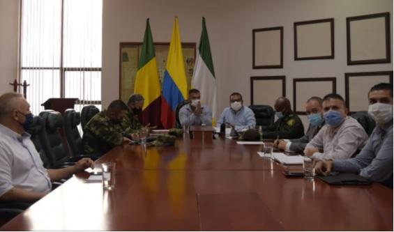 ''Aprueban $2.000 millones para mantenimiento de cámaras de seguridad y mitigar hacinamiento carcelario'' gobernador (e) del Quindío