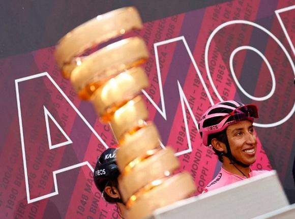 Vida y obra de Egan Bernal, nuevo campeón del Giro de Italia