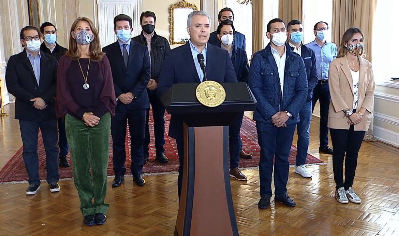 Presidente Duque pidió retirar la reforma tributaria, para tramitar 'un nuevo proyecto'