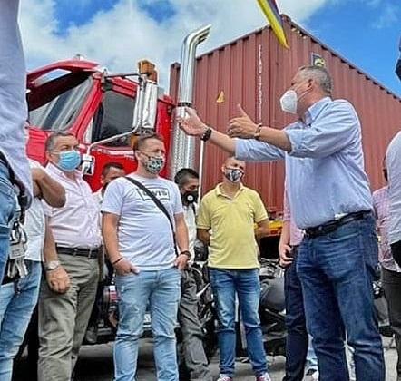 Levantamiento del bloqueo de las plantas en Risaralda permitirán el paso de combustible a la ciudad de Armenia