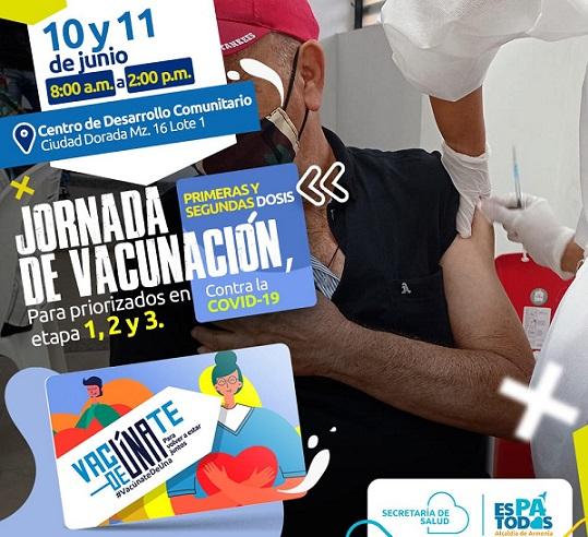 En Armenia las jornadas de vacunación contra la COVID-19 serán asíesta semana