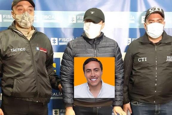 Capturan al exgobernador de Santander y hoy senador por cambio radical Richard Aguilar