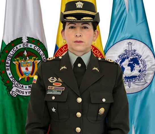 La Coronel Sandra Patricia Hernández Garzón es la nueva comandante de la Región de Policía No 3