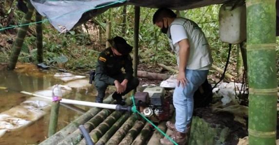 Por captación ilegal de agua de una quebrada en zona rural de Montenegro CRQ abrirá proceso sancionatorio ambiental