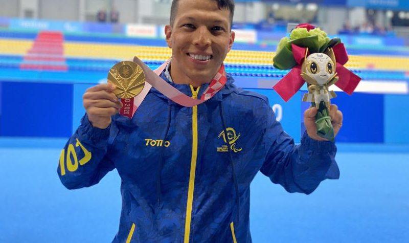 Nelson Crispín, colombiano ganador de oro y récord mundial en Juegos Paralímpicos