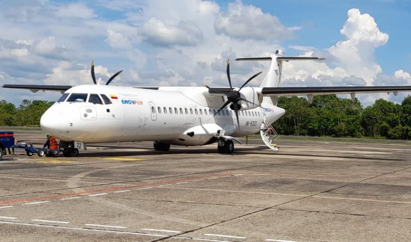 Aerolínea Easyfly incrementó a dos los vuelos diarios entre Medellín y Armenia