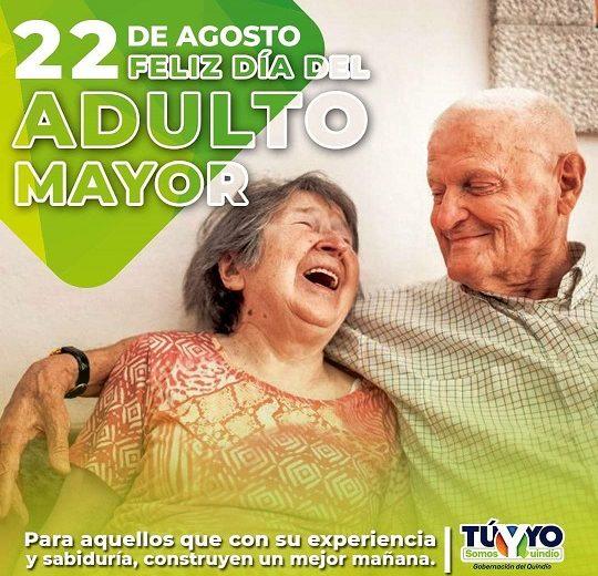 Gobernación del Quindío conmemororó el Día del Abuelito