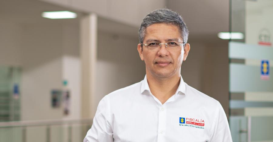 Justino Hernández Murcia, nuevo director de la Fiscalía Seccional Quindío