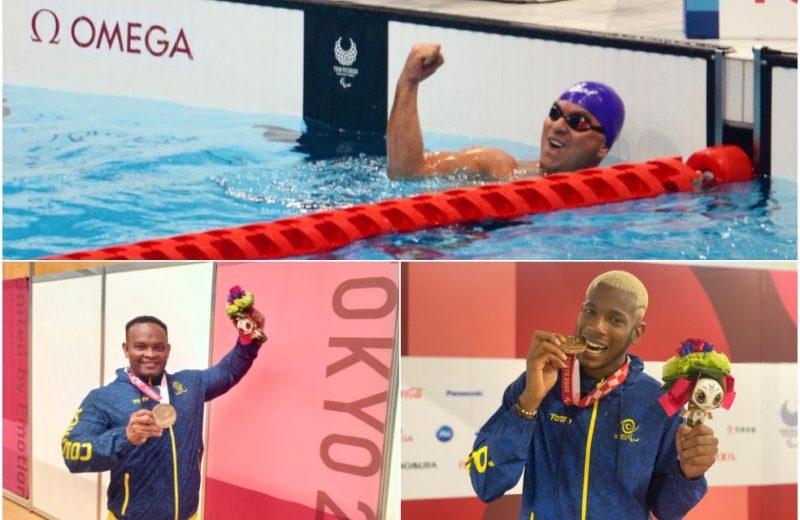 Tres nuevas medallas para Colombia en los Juegos Paralímpicos Tokio 2020