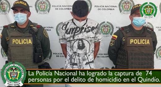 Capturan a quien podría ser otro enlace del atentado al exconcejal de la Tebaida Salvador Quintero Taborda
