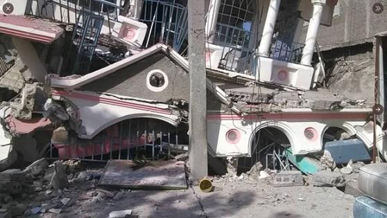 Aterrador terremoto en Haití con alerta de tsunami