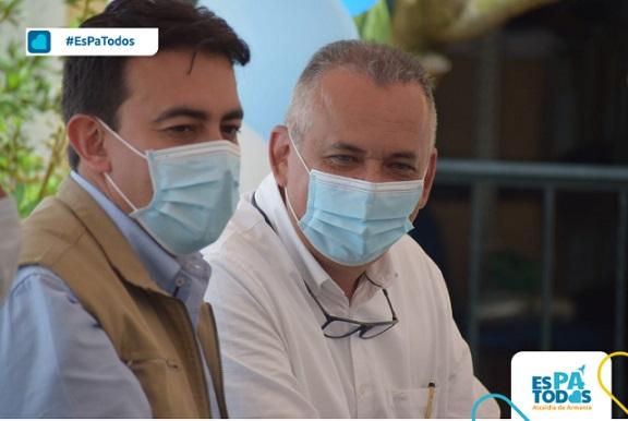 Alcalde de Armenia inauguró Registraduría Auxiliar en Barrio Cañas Gordas; Gobierno Nacional exaltó liderazgo de Ríos Morales en este proyecto