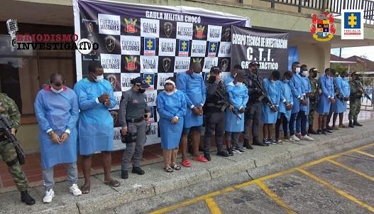 Capturan secretario de hacienda de la gobernación del Chocó, pertenecería a red delictiva responsable de homicidios, extorsiones, desplazamiento y tráfico de estupefacientes