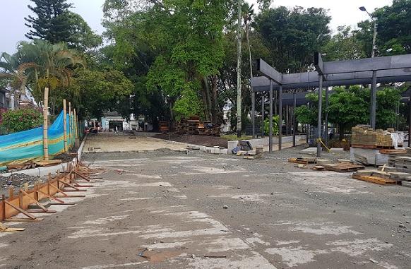 Presunto daño patrimonial en obras del 'Paseo del Edén' de La Tebaida por más de doscientos setenta millones de pesos, por ahora
