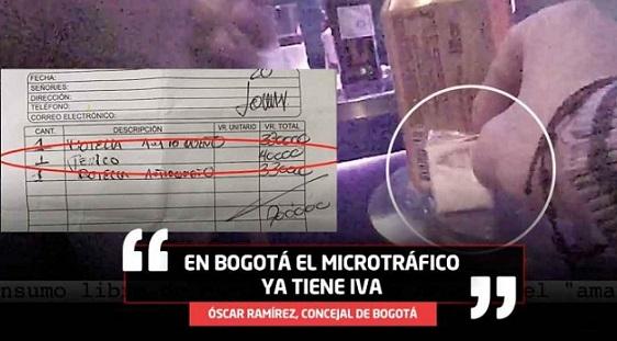 En videos quedó registrado como Jíbaros venden droga con carta de pecios y hasta incluyen IVA