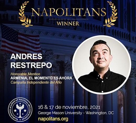 Campaña electoral del hoy alcalde de Armenia José Manuel Ríos Morales, en las grandes ligas del marketing político internacional