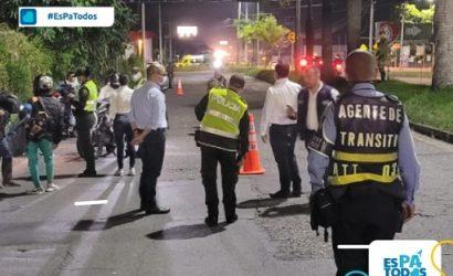Operativo de transito contra Piques ilegales en Armenia arroja 27 comparendos y 14 inmovilizaciones
